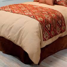 bed runners western bedding king size saffron bed runner lone star western decor