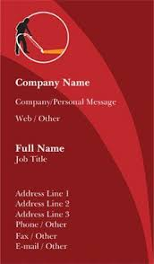 Construction Name Card Design Personalized Standard Business Cards Designs Landscaping
