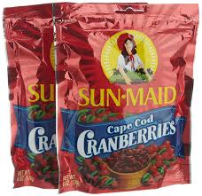 sun maid cape cod cranberries 6 ounce bags pack of 6 amazon