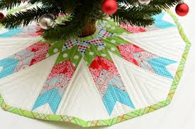 Flannel Tree Skirt Wip Wednesday With Guest Host Cindy From Hyacinth Quilt Designs