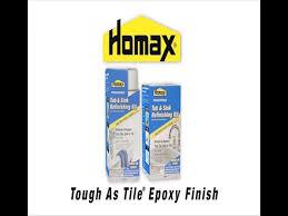 Homax Bathtub Refinishing Reviews Homax Tough As Tile White Tub U0026 Sink Refinishing Kit 32 Oz At