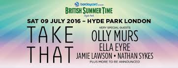 barclaycard summer time festival hyde park july 2016