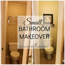 small bathroom makeover and friday favorites joyfully prudent