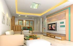Living Room Tv Furniture by Wall Mounted Tv Ideas Living Room Idea In Boston With White Walls