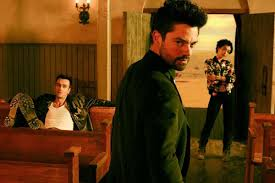 preacher amc u0027s dark new series is a welcome shot of hellfire in