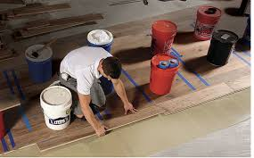 installing engineered flooring on a concrete slab homebuilding
