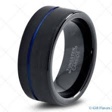 black and blue wedding rings black wedding ring ideas collections