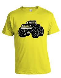 monster truck youth shirt