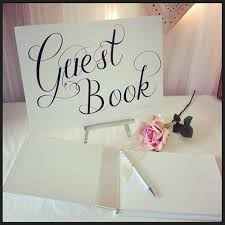 guestbook wedding wedding accessory bits to buy guestbook wedding signs