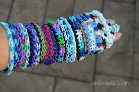 bracelet looms images Disney frozen inspired rainbow loom bracelets pandora 39 s deals jpg