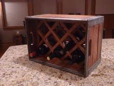 milk crate wine rack i did something like this in my kitchen