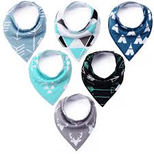 amazon com kiddybyte baby bandana drool bibs cute design for