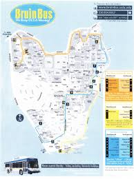 Ucla Parking Map The Real Mba Housewife Free Rides To From Campus On The Bruinbus