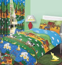 Single Duvet Cover Sets Bed U0026 Bath Farmyard Friends Single Duvet Cover Set