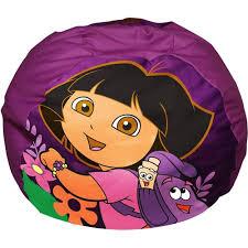 sofa chair for toddler nickelodeon dora the explorer toddler bean bag sofa chair