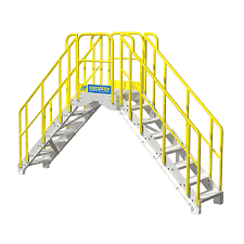 Prefabricated Aluminum Stairs by Industrial Stairs Powder Coated Aluminum Metal Stairs From