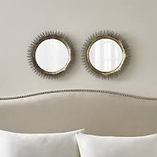 Circle Bathroom Mirror Bathroom Mirrors Crate And Barrel