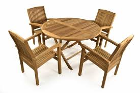 popular teak outdoor dining chairs with teak patio dining set