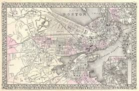 Map Of Boston by File 1879 Mitchell Map Of Boston Massachusetts Geographicus