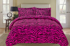 home design alternative comforter zebra pink and black alternative comforter set