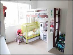 Bunk Bed Cots Bunk Beds With Cot Underneath Nursery Playroom
