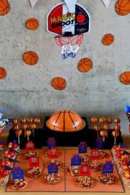 basketball party table decorations birthday party ideas basketball party birthdays and basketball