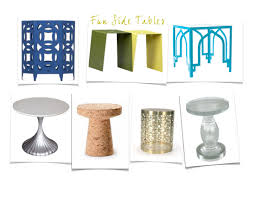 Cool Side Tables Fun Side Tables U2026 Design Roots