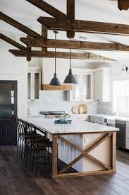farmhouse style kitchen with oak cabinets rustic farmhouse engrained cabinetry countertops