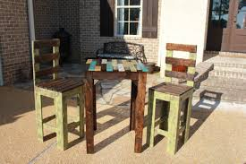 Rustic Bistro Table And Chairs Rustic Farmhouse Bistro Table Set