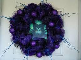 Deco Mesh Halloween Wreath Light Up Eyes Maleficent Deco Mesh Door Wreath Halloween Fandom