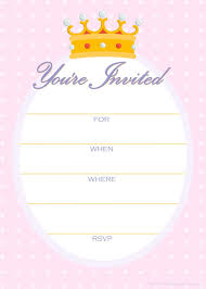 free printable invitation templates best 25 free printable