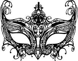 black and white mardi gras masks black owl masquerade mask mardi gras clipart png jpg digital