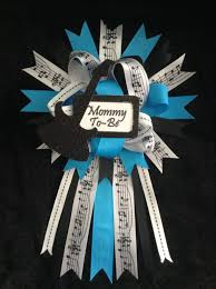 rock star baby shower rock and roll party mom to be corsage