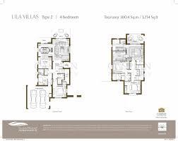 3 Bedroom Villa Floor Plans by Arabian Ranches Lila Floor Plans