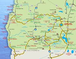 map of oregon 2 maps crater lake oregon lodging restaurants things to do