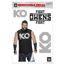 halloween face decals kevin owens merchandise official source to buy online wwe
