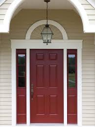a red door is a sure way to make a bold statement red will