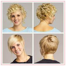 curly and short haircut showing back best short haircuts for curly hair front and back best
