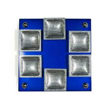 seder cups stember metal arts studio magnetic seder plate with square cups