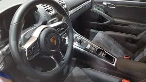 porsche cayman interior 2017 porsche cayman e volution interior second image indian autos blog