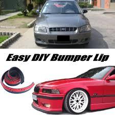 are hyundai accent cars aliexpress com buy novovisu for hyundai accent verna bumper lip