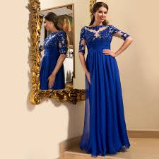 royal blue dress royal blue sleeve prom dress lace floor length prom dresses