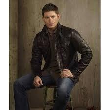 leather jacket halloween costume jensen ackles leather jacket supernatural dean winchester jacket