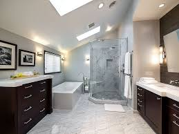 bathroom remarkable long attic bathroom design presenting spa
