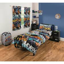 Graffiti Bedroom Range Kids Bedding  Accessories George At ASDA - Graffiti bedroom