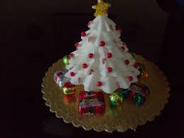 D Christmas Tree Cake - christmas chocolate trees christmas lights decoration