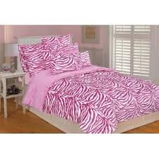 Queen Zebra Comforter White And Pink Zebra Comforter Set