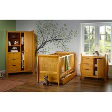 Pine Changing Table by Obaby Stamford Sleigh 3 Piece Room Set Country Pine Kiddicare Com
