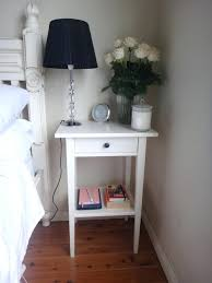 narrow bedside table narrow bedside table pated st shade small white tables uk dark wood