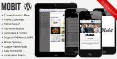 mobilize u2013 jquery mobile wordpress theme u2013 demo mobilize is a